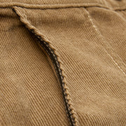 CorduroyShorts_MENS_SHORTS_SAND_MA4006 Close Up On Side Pocket