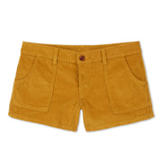 CorduroyWalkShort_Womens_Bottoms_Gold_flat_lay_front