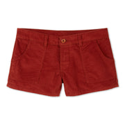 CorduroyWalkShort_Womens_Bottoms_Rust_flat_lay_front