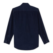 CorduroyWorkShirt_MENS_OUTERWEAR_NAVY_MA5006 Flat Lay Back View