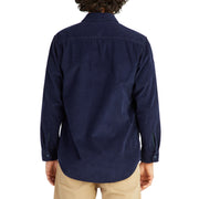 CorduroyWorkShirt_MENS_OUTERWEAR_NAVY_MA5006 On Model Back View