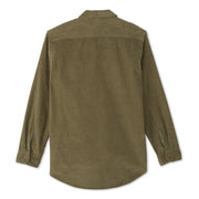 CorduroyWorkShirt_MENS_OUTERWEAR_OLIVE_MA5006 Flat Lay Back View