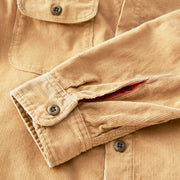 CorduroyWorkShirt_MENS_OUTERWEAR_TOAST_MA5006 Close Up Button Detail