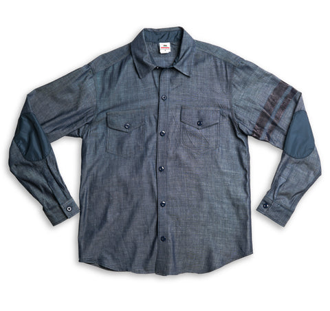 Cotton CPO Shirt - Indigo