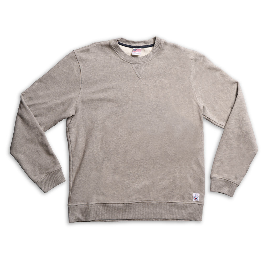a6d00c85d3 Men s Crew Neck Sweatshirt - Heather Grey
