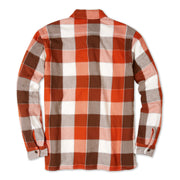 FlannelWorkShirt_Mens_Shirts_GoldenBrown_flat_lay_back