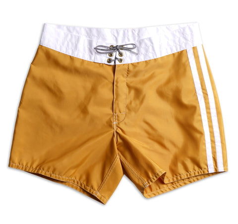 310 Limited-Edition Golden Era Board Shorts - Gold & White