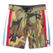 311 Limited-Edition Guerilla Redux Board Shorts - Woodland Camo