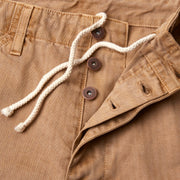 HBTPigment_Mens_Pants_HoneyWheat_up_close_fly