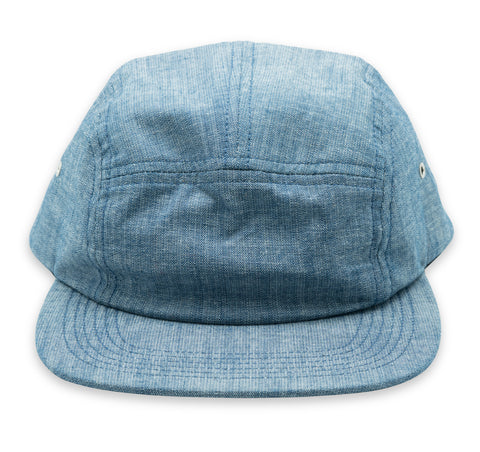 Cotton Camper Hat - Indigo