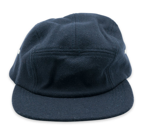 Wool Camper Hat - Navy