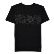 Hibiscus T-Shirt - Blackout