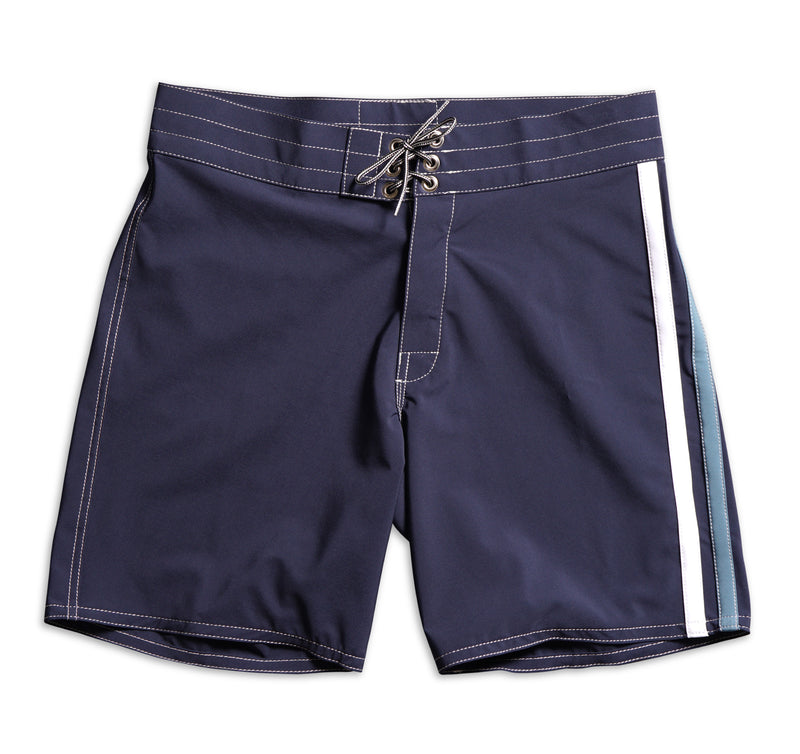 808 Limited-Edition High Line Board Shorts - Navy & Federal Blue / White