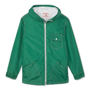 Hooded SurfNyl Jacket - Dark Green