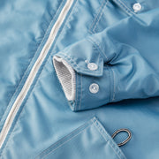 HoodedCompetitionJacket_MENS_OUTERWEAR_FEDERALBLUE_MA9017 Close Up Stitching Detail