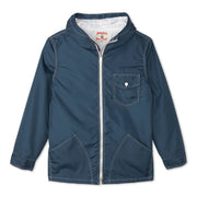 Hooded SurfNyl Jacket - Navy