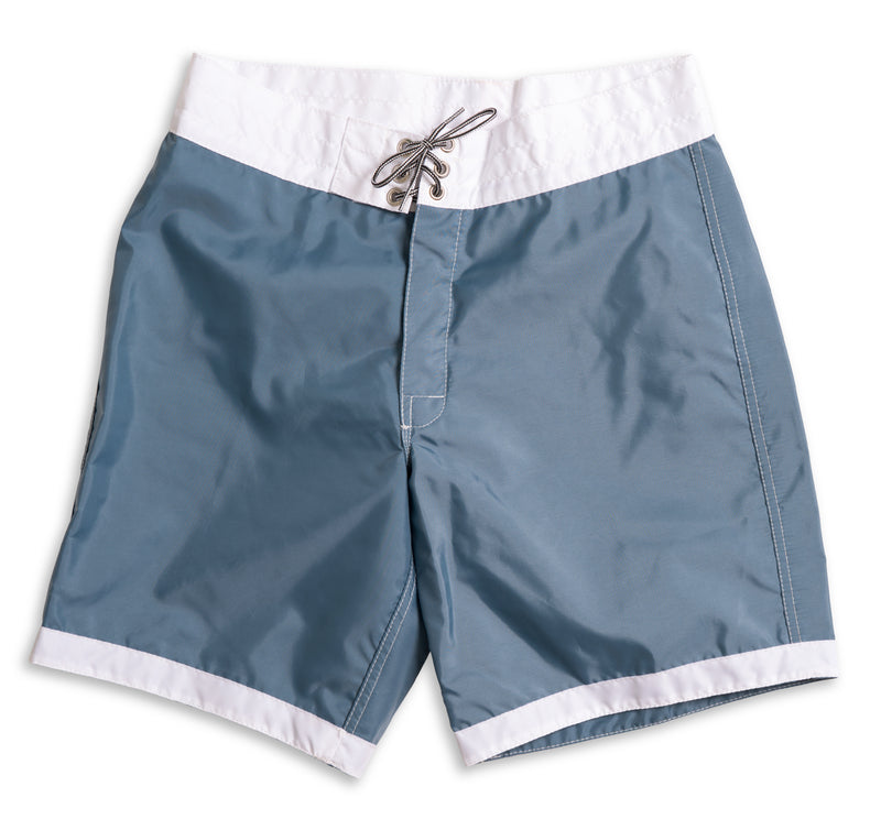 311 Limited-Edition White Tip Board Shorts - Federal Blue & White