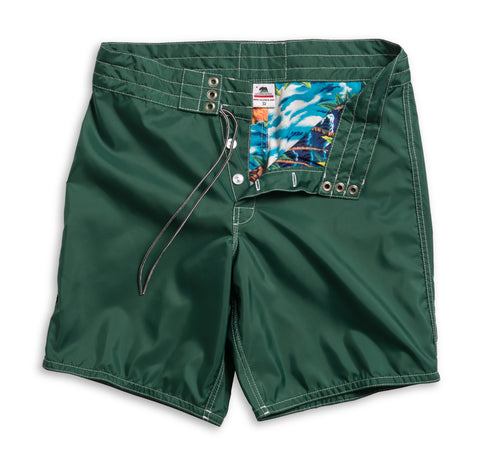 311 Limited-Edition Aloha Board Shorts - Dark Green