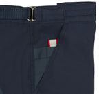 Navy Canvas Tactical Walk Shorts - Lining