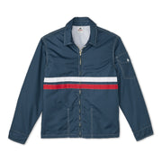 MensCompetitionJacket_MENS_OUTERWEAR_NAVY_RED_MA9001 Flat Lay Front View