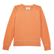 Men's Garment Dyed Raglan Crew - Orange