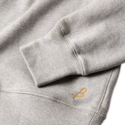 MensMorroBayRaglanCrew_Mens_Outerwear_HeatherGrey_up_close_sleeve