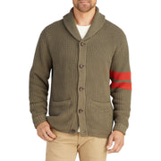 MensShawlCollarCardigan_MENS_OUTERWEAR_UNKNOWN_MA6008 On Model Front View