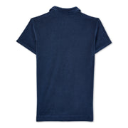Men's Terry Polo - Navy