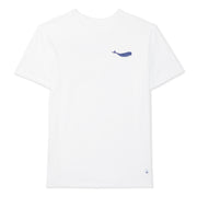 Men's Whale T-Shirt - White