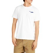 MensWhaleTShirt_MENS_T-SHIRT_WHITE_MA1022 On Model Front View