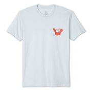 Shaka Spray T-Shirt - Light Blue