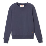 Men's Garment Dyed Raglan Crew - Navy