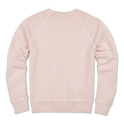 Men's Garment Dyed Raglan Crew - Blush