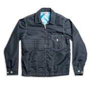 Men's Competition Jacket - Navy Flat Lay Front View