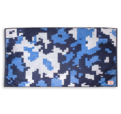 Camo Beach Towel - Navy Digital Camo