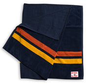 Navy-Paprika-Towel Folded