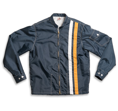 Racing Jacket - Navy & Gold