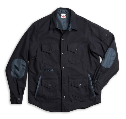 Wool Sportsman Jacket - Navy