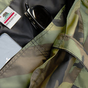 Camo Nylon Tote Interior Pockets