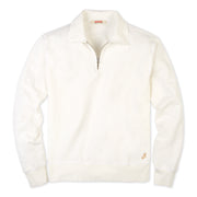 QuarterZipLS_Mens_Tops_White_flay_lay_front