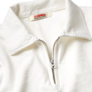 QuarterZipLS_Mens_Tops_White_up_close_zipper
