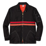 QuiltedCompetitionJacket_Mens_Outerwear_BlackRedPaprika_Flat_Lay_front