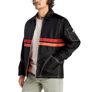 QuiltedCompetitionJacket_Mens_Outerwear_BlackRedPaprika_on_model_front