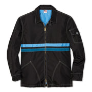 QuiltedCompetitionJacket_Mens_Outerwear_BlackSkyBlueTurquoise_flat_lay_front