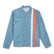 Racing Jacket - Federal Blue & Orange
