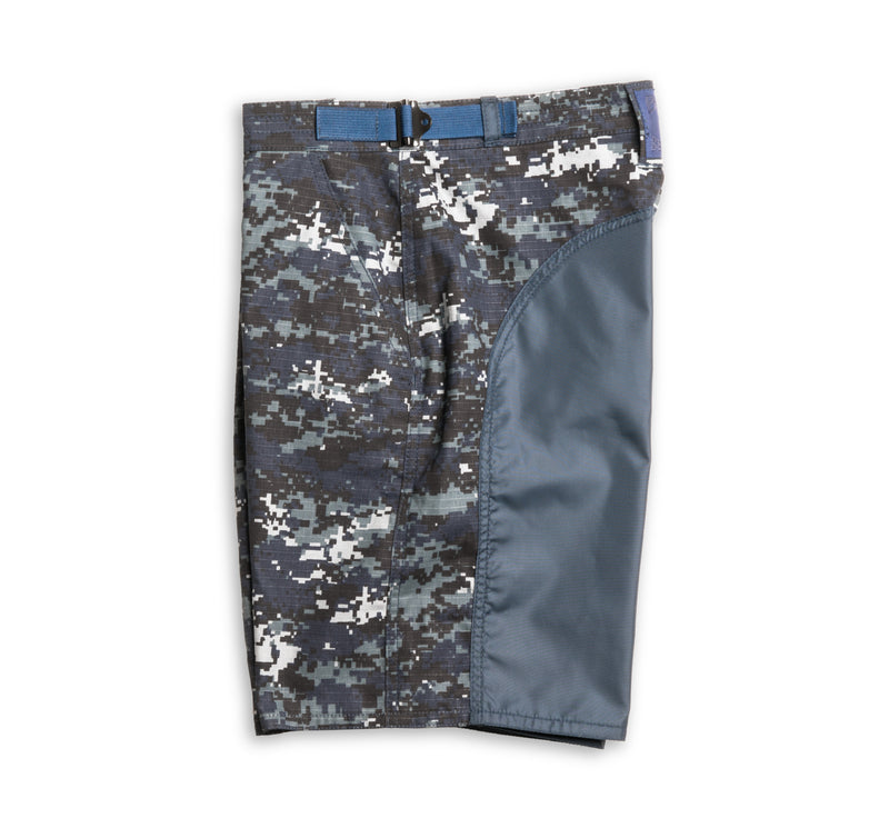 Ripstop Cotton Tac Shorts - Navy Digital Camo