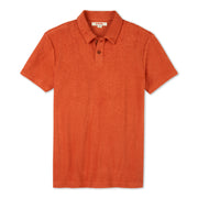 SSTerryPolo_M_Tops_Paprika_flat_lay_front