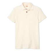 ShortSleevePolo_MENS_SHIRT_NATURAL_M Lay Flat Front