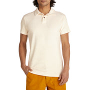 ShortSleevePolo_MENS_SHIRT_NATURAL_M On Model Front