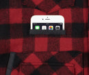 Red Buffalo Plaid Wool Sportsman Jacket - Phone Pocket
